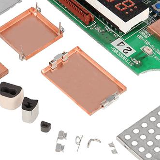 PCB-contenitori, guarnizioni, alloggiamenti e clip