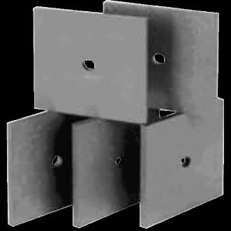 Piastrelle per ammortizzatori UHF