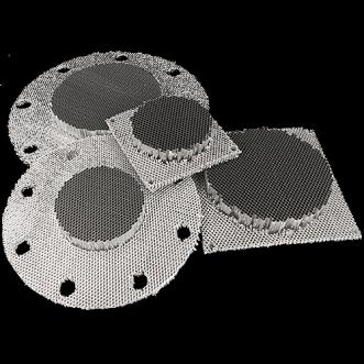 Ventilatori a nido d'ape senza cornice