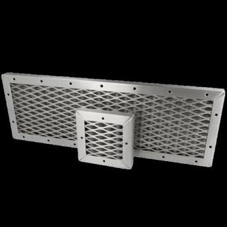 Pannello di ventilazione in tessuto EMC