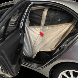 Schermatura dell'automobile (anche per gli scambiatori)